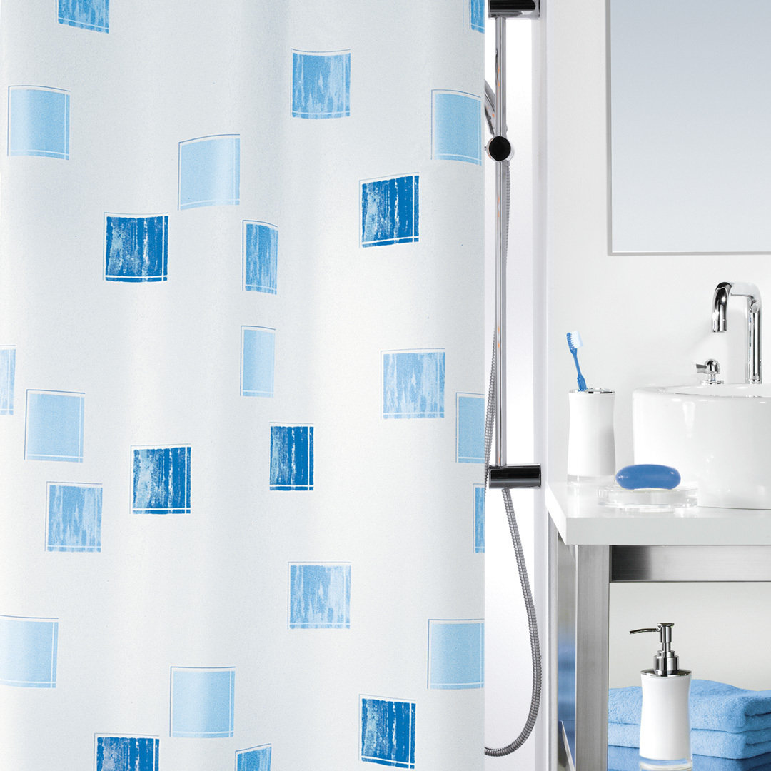 Spirella Milano Textile Shower Curtain