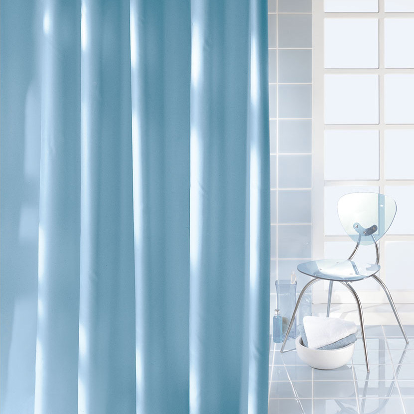 kleine wolke caravelle textile shower curtain clevershower. Black Bedroom Furniture Sets. Home Design Ideas