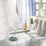KLEINE WOLKE - MOTION - Textile Shower Curtain