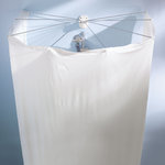 Kleine Wolke - Spare Shower curtain for Shower umbrella spider with 8 arms