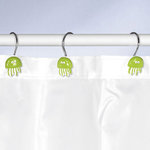 Kleine Wolke - JELLY - Deco-Rings / Shower curtain rings