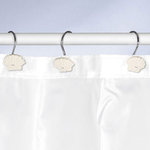 Kleine Wolke - SHELL- Deco-Rings / Shower curtain rings