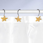 Kleine Wolke - STERN - Deco-Rings / Shower curtain rings