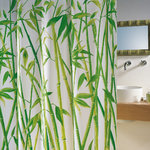 spirella - BAMBUS - Textile Shower Curtain