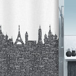 spirella - URBAN - Textile Shower Curtain