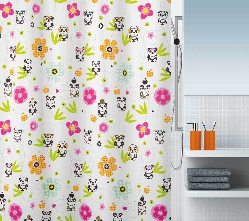 spirella - PANDA LIFE - Textile Shower Curtain