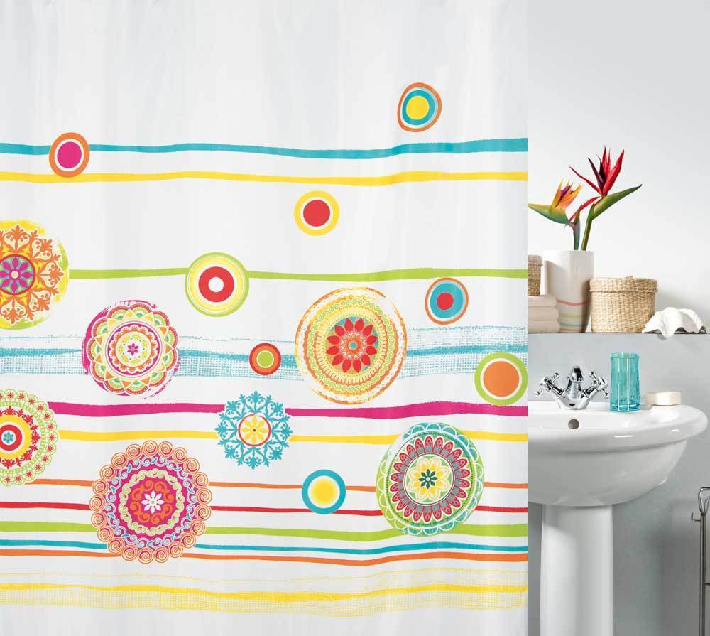 spirella - SALINAS - Textile Shower Curtain