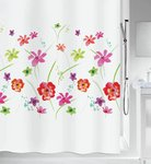 spirella - FLOWER MEADOW - Textile Shower Curtain