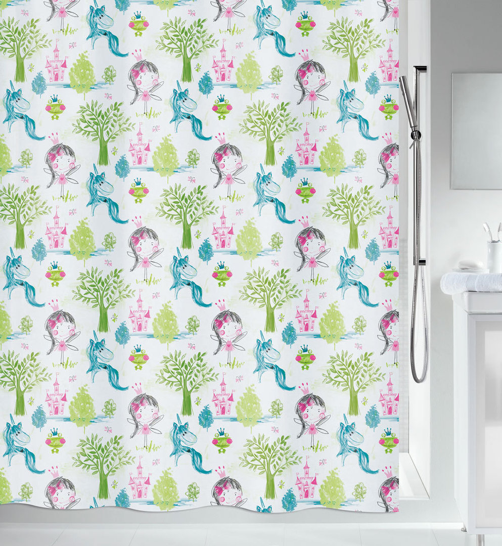 spirella - PRINCESS - Textile Shower Curtain